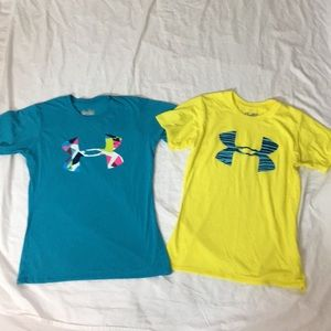 Two Under Armour T-shirts